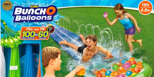 Bunch O Balloons Water Slide Wipeout Only $11 on Walmart.com (Regularly $26) | Includes 100 Water Balloons