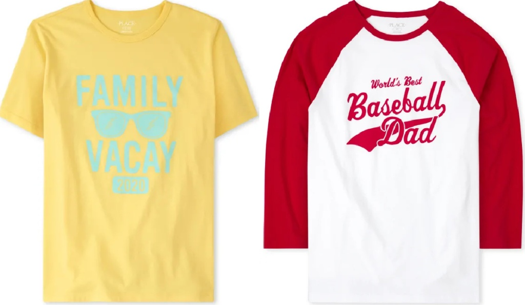 children's place adult graphic tees