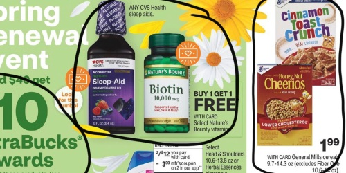 CVS Weekly Ad (4/11/21 – 4/17/21) | We've Circled Our Faves!