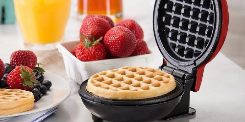 Dash Mini Waffle Maker 3-Pack Just $15.99 on Zulily | Only $5.33 Each