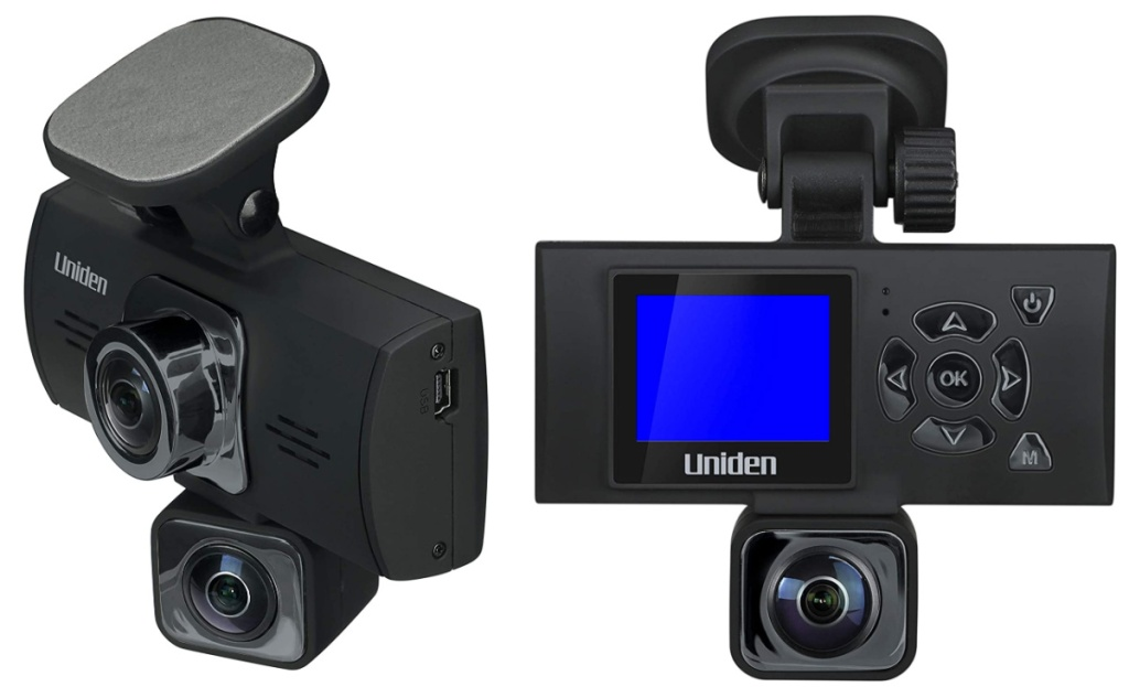 dashcam front and back