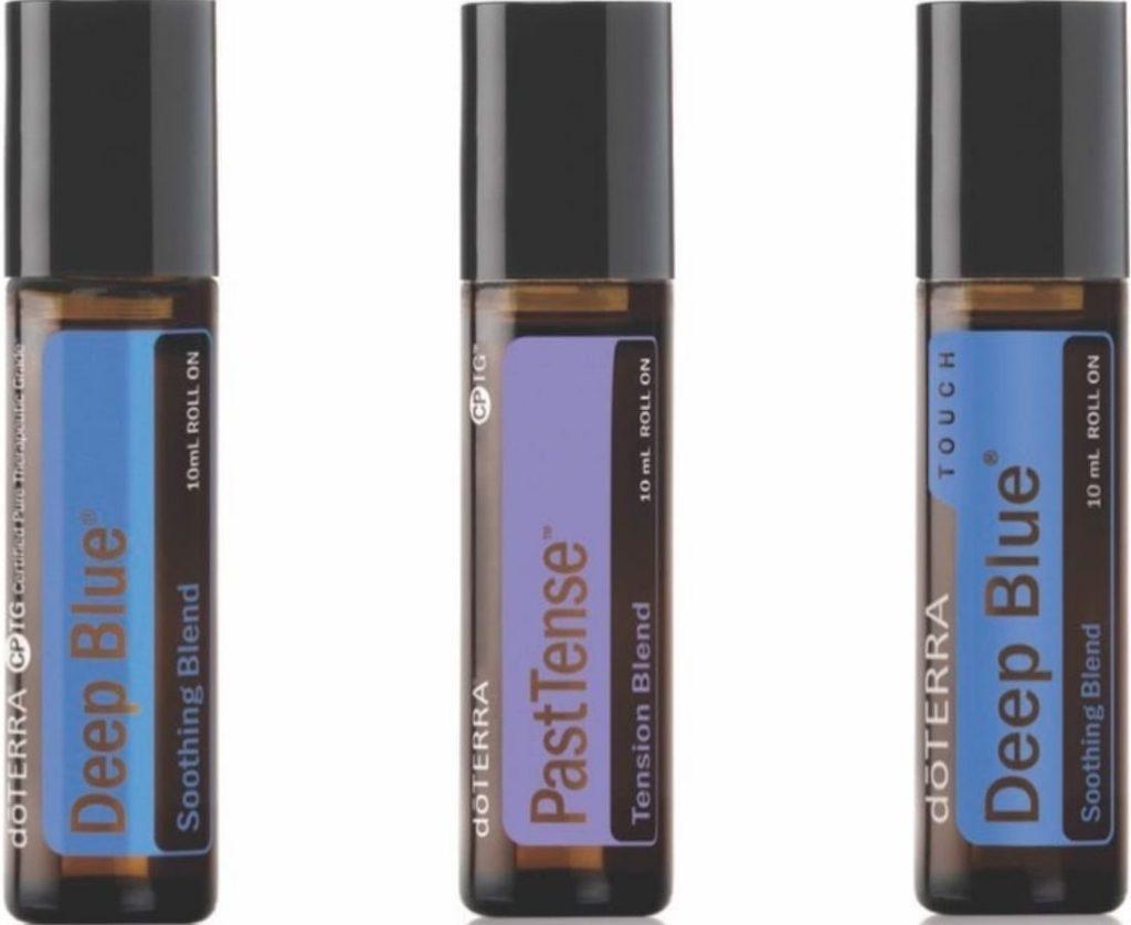 doterra Deep Blue and PastTense Essential Oils