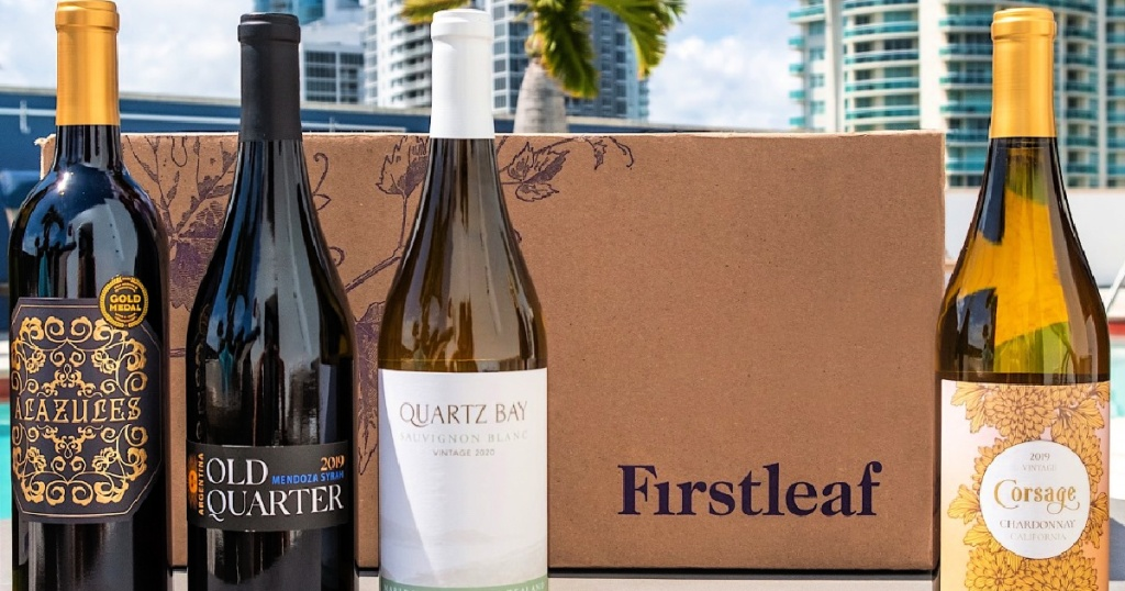 firstleaf wine with box
