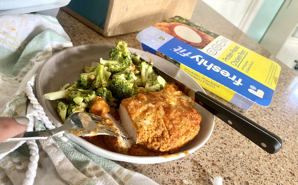 freshly fit chicken entree meal