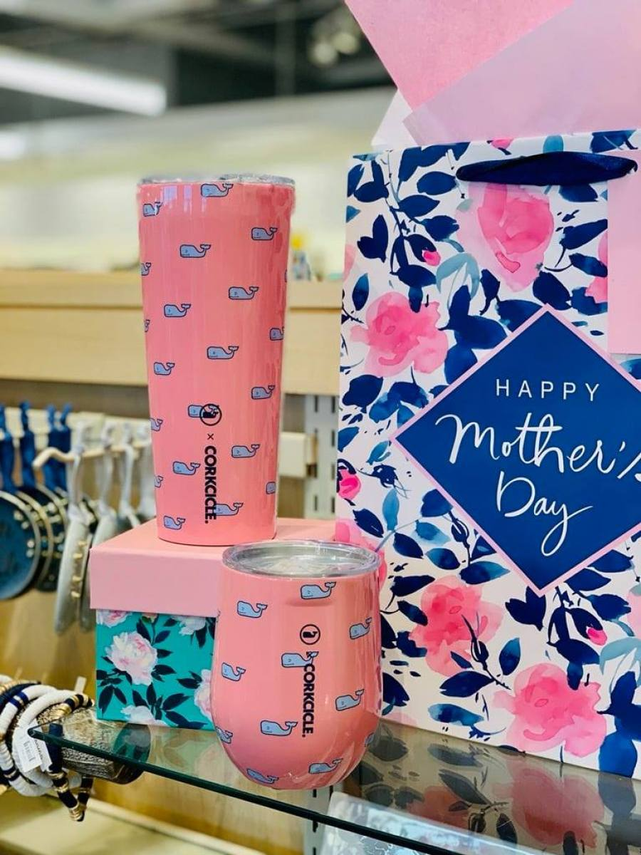 hallmark Corkicle cups and gift bags