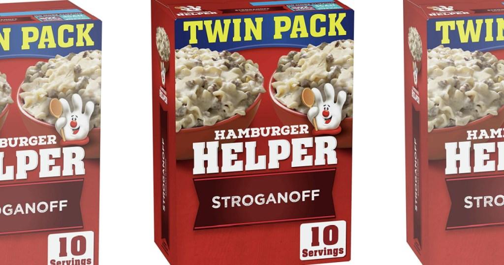 hamburger helper stroganoff
