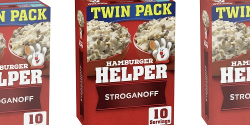 Hamburger Helper 2-Pack Only $1.48 Shipped on Amazon | Just 74¢ Per Box