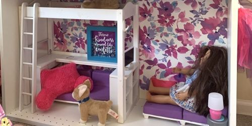 This Reader Took a $10 IKEA Shelf & Turned It Into a Doll's Dreamhouse!