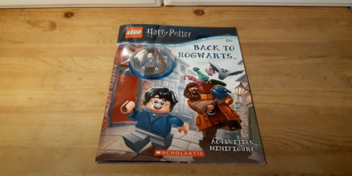 LEGO Harry Potter Activity Book w/ Minifigure Only $4.60 on Amazon (Regularly $9)