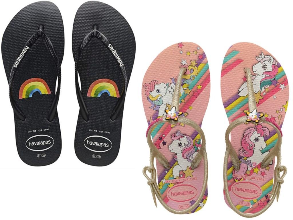 havaianas kids flip flops