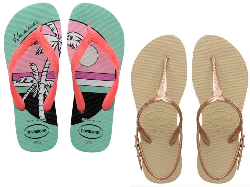 Havaianas Sandals for the Family from $9.99 on Zulily   Includes MLB, Character, & More Fun Designs