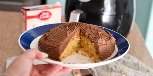 You CAN Make Cake in the Air Fryer! Who Knew?!