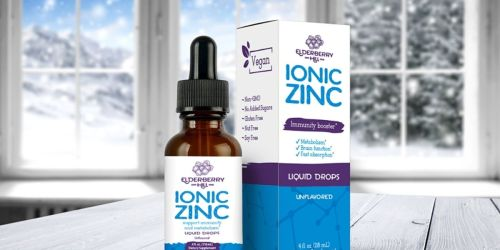 Organic Zinc Liquid Drops Just $10.76 Shipped on Amazon | Supports Immunity & Metabolism