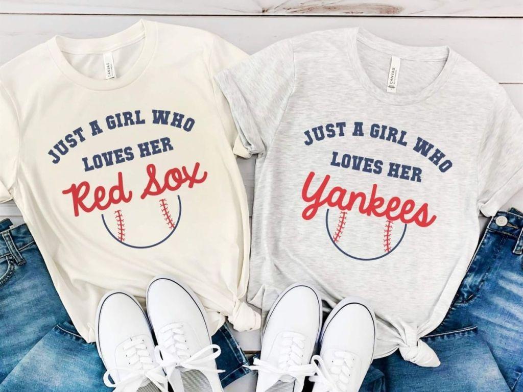baseball graphic tees
