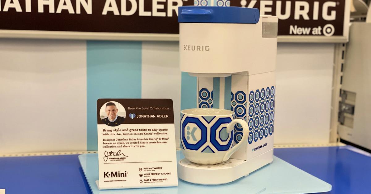 Keurig Limited Edition Jonathan Adler Mini Single-Serve Coffee Maker