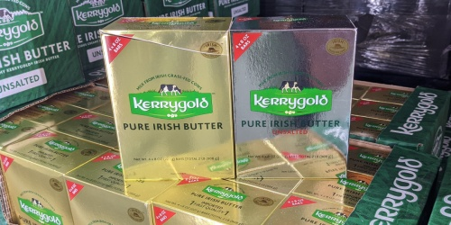 Kerrygold Irish Butter 2-Pound Boxes Only $8.99 at Costco