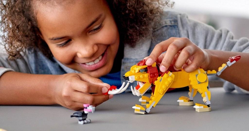 lego creator lion
