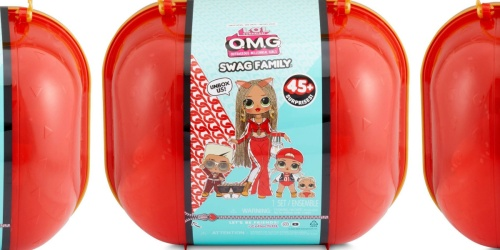 L.O.L. Surprise! O.M.G. Swag Family Set w/ Doll & 45+ Accessories Only $47.99 Shipped on Target.com