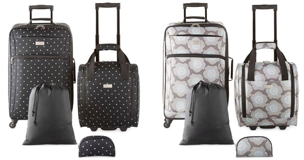 4 piece luggage sets