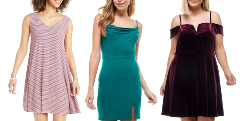 Juniors & Women's Dresses from $10.66 on Macys.com (Regularly $59) | Includes Plus Sizes
