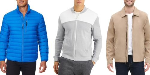 Men's Jackets from $18 on Macys.com (Regularly $65+)   Tommy Hilfiger, Calvin Klein & More