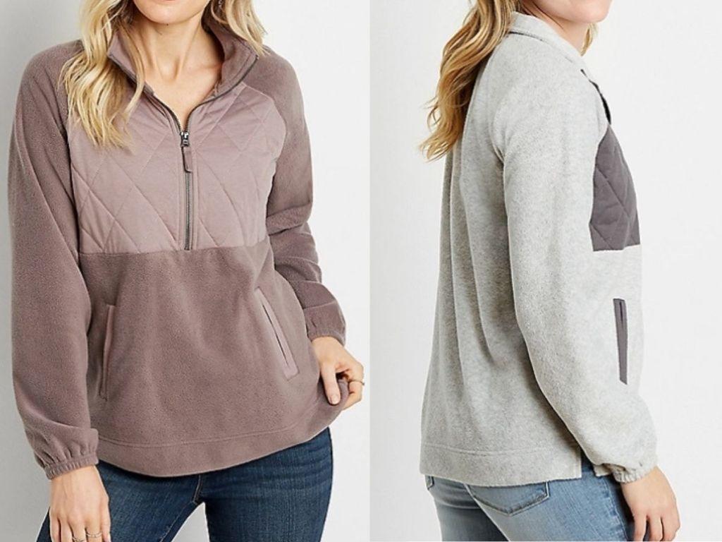 maurice's women's fleece