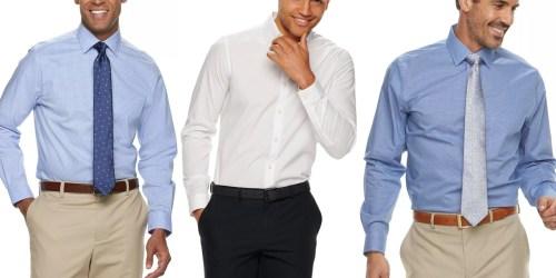 Men's Dress Shirts from $3.60 on Kohls.com (Regularly $45+)