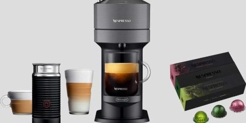 Nespresso Coffee & Espresso Maker Bundle + $35 Nespresso Voucher Just $169.99 Shipped for Costco Members