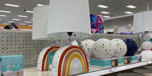 New Pillowfort Kids Decor at Target from $5 | Wall Art, Lamps, Shelves & More