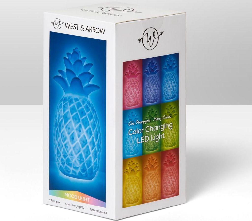 pineapple light in box