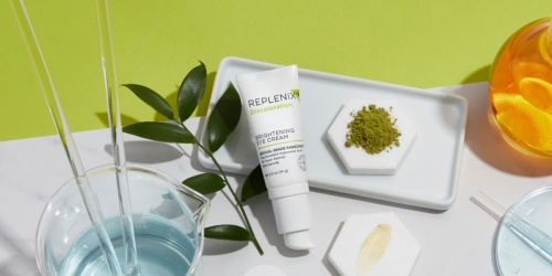 FREE Replenix Skincare Brightening Eye Cream Sample