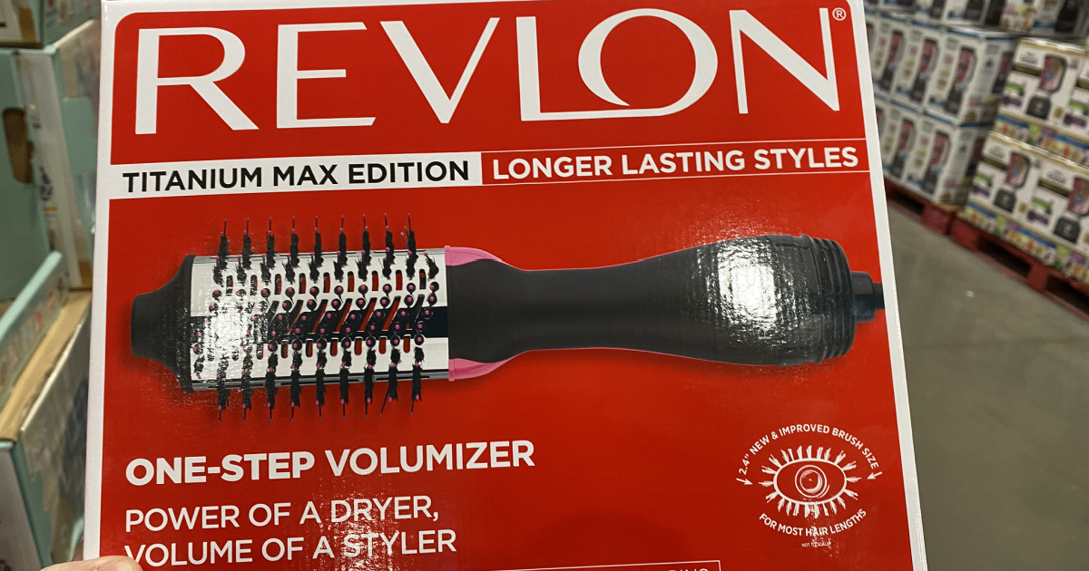 revlon one-step inbox in store
