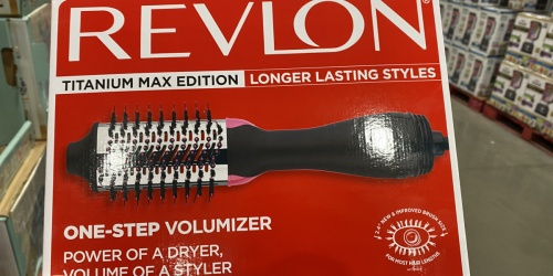 Revlon One-Step Hair Dryer & Volumizer from $34.99 at Costco