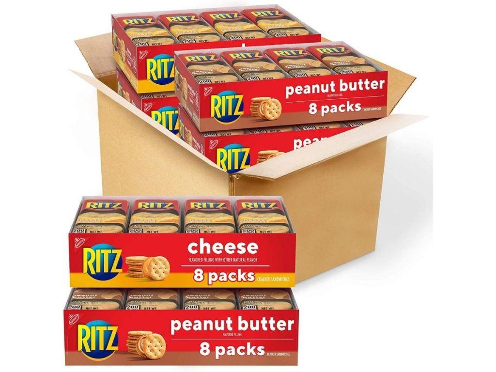Ritz cheese crackers 8-packs