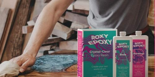 Epoxy Resin Kit Only $22.48 Shipped on Amazon | Use for Crafting & DIY Projects