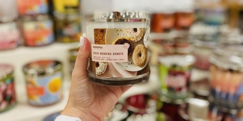 Sonoma Goods for Life 3-Wick Candles from $7 Shipped for Select Kohl's Cardholders (Regularly $20)