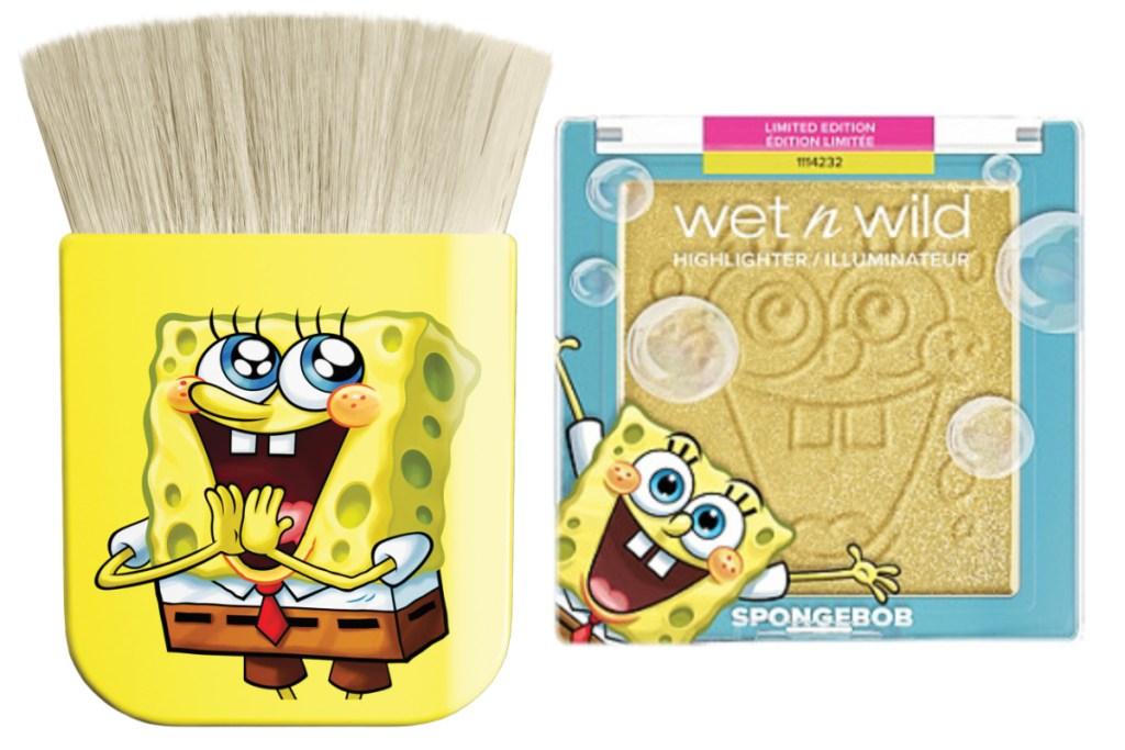 spongebob makeup
