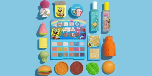 New Wet n' Wild SpongeBob Collection Available for All You LandLubbers   Prices from $5.99