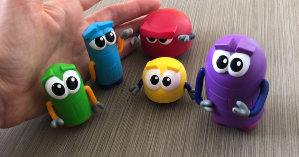 storybots toys in hand