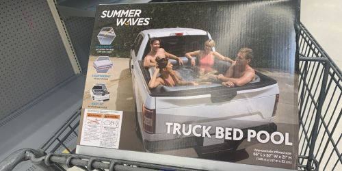 Inflatable Truck Bed Pool Only $39.97 at Walmart | Fits Any Standard-Sized Truck