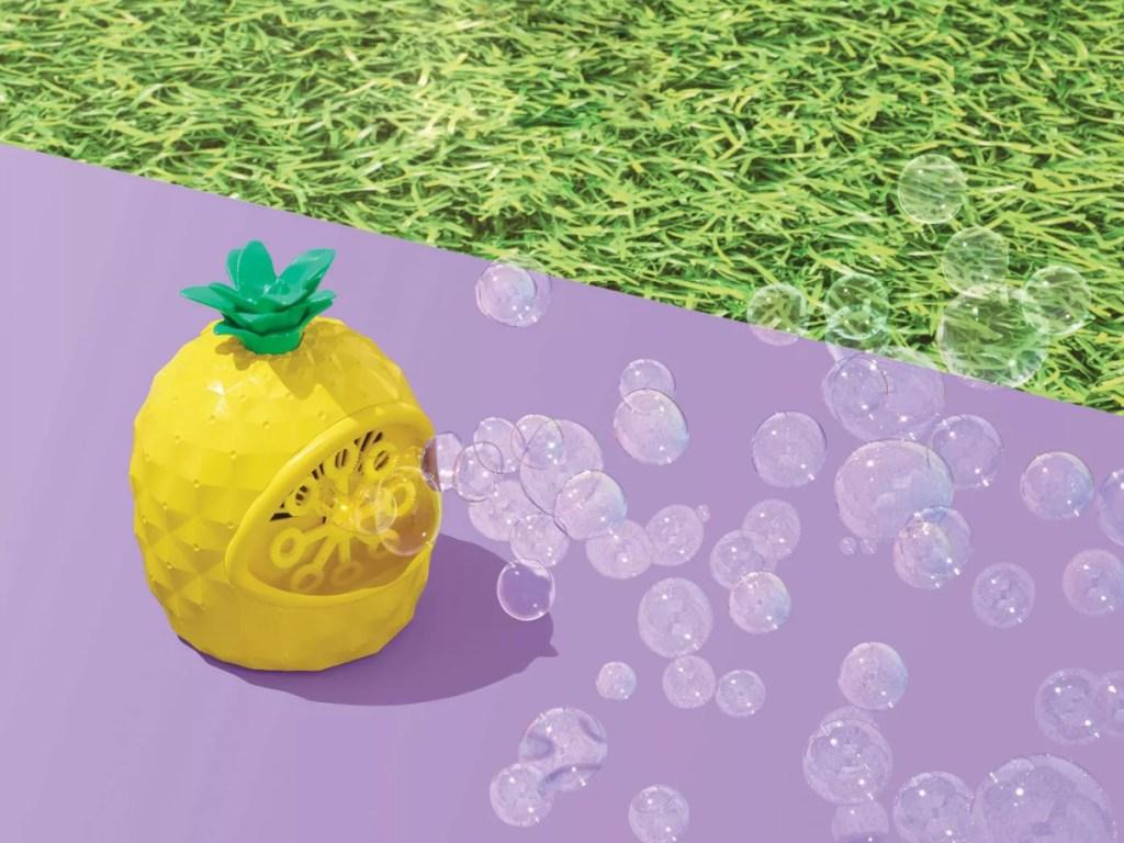sun squad pineapple bubble machine