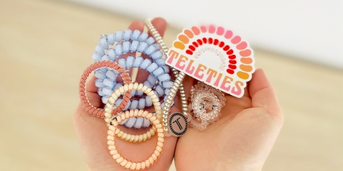 Get 30% Off Our Favorite Spiral Hair Ties with This Hot Summer Promo