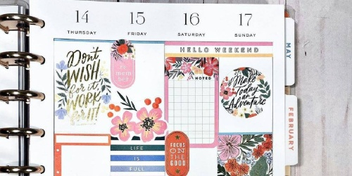 The Happy Planner Journals, Notebooks & Planners from $6.98 (Regularly $15+)