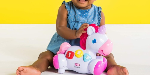 Bright Starts Rock & Glow Unicorn Only $10 on Amazon (Regularly $20) | Awesome Reviews