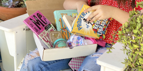 This Cute Subscription Box is Perfect for Tweens & We've Got a 40% Off Code (Includes Books & Other Goodies!)