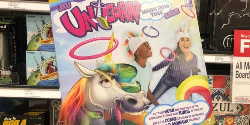Unicorn Magic Ring Toss Game Only $5.74 on Target.com (Regularly $12)