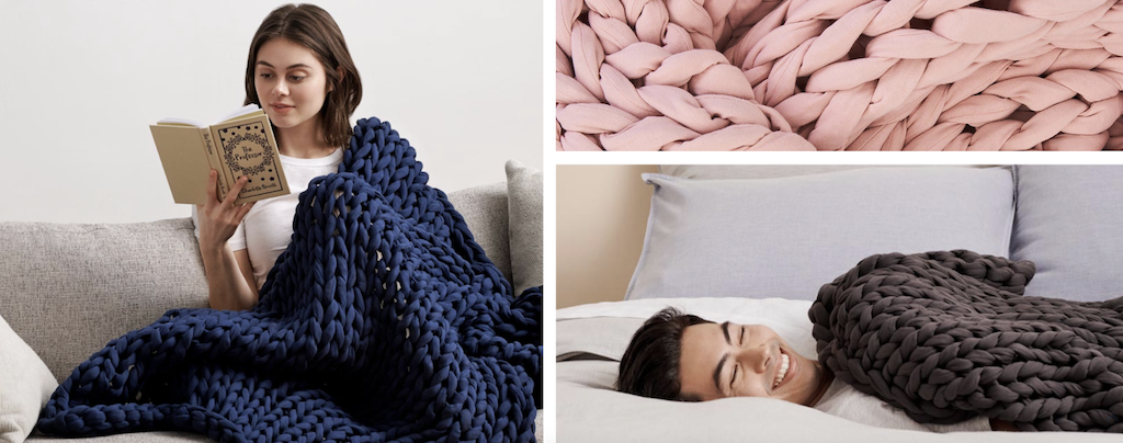 Bearaby weighted blankets
