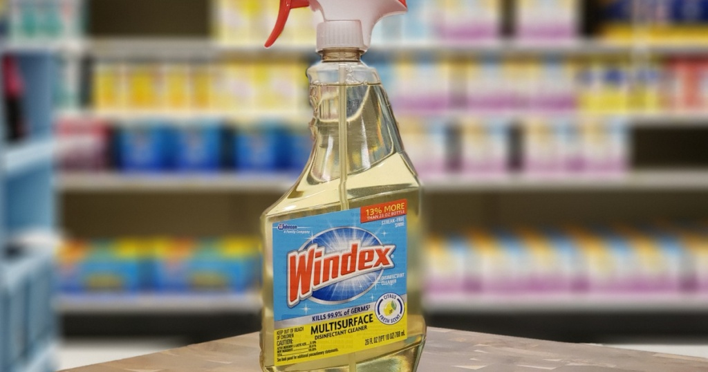 windex cleaner in store