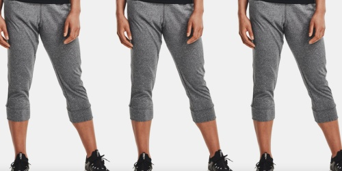 Under Armour Women's Capris Only $19.99 (Regularly $50) | Great Reviews