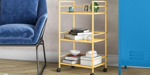 Rolling Bar Cart Only $61.99 Shipped on Wayfair (Regularly $120) | Great for ALL Rooms in Your Home!
